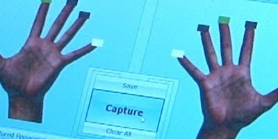 We are here to capture your fingerprint